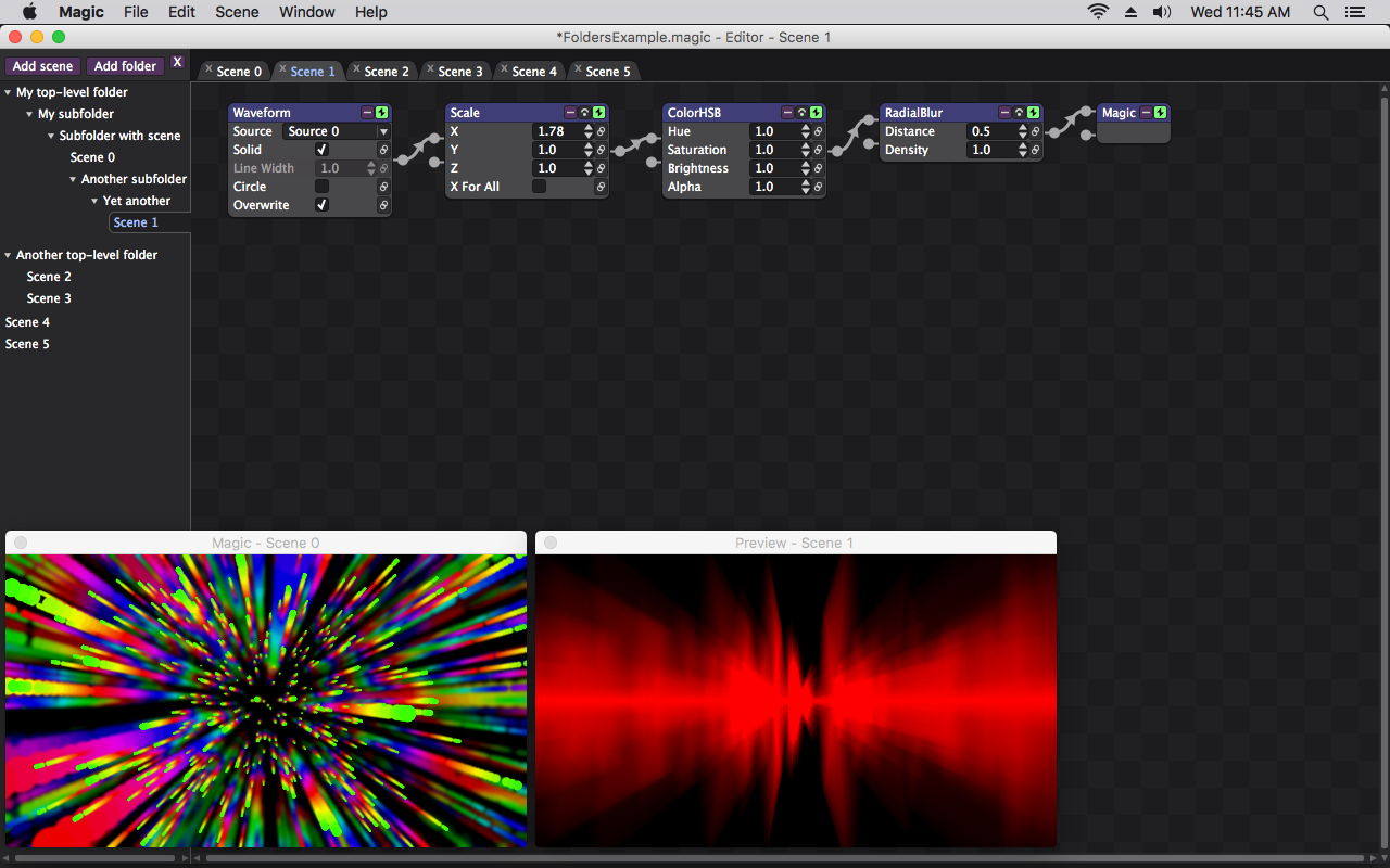 Screenshot for Magic Music Visualizer Software