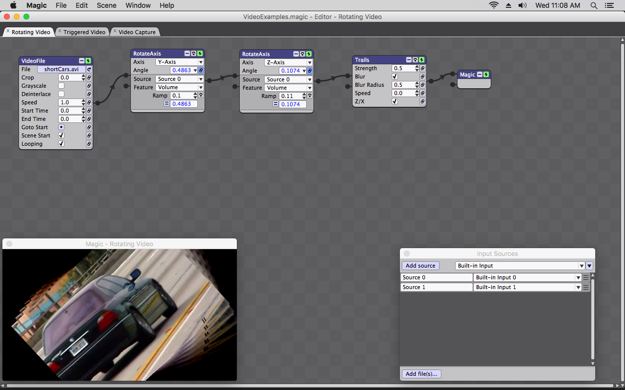 Screenshot for Magic Video Mixer Software